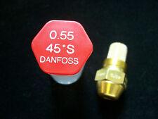 Brennerdüse Danfoss 0,55/45 ° S cône plein Buses changement Réduit la consommation de pétrole