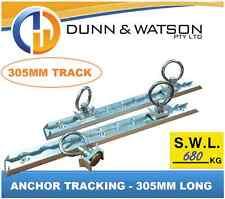305mm Anchor Track 680kg (2x Track / 4x Rings) Tie Down, Trailer, Caravan, Float
