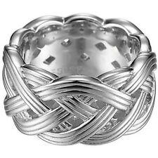 Esprit Esrg91513a Damen Ring Silber pure Rope XL Größe 53 (17 0 )