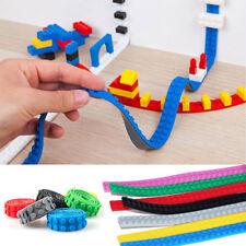 Tape Strip Block Bendable Flexible Corners Educational Toys For Lego Blocks New