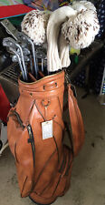Ping golf clubs complete set white dot, 4 woods & bag