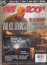 VIVE LE ROCK  MAGAZINE + CD #12 MAY/JUNE 2013, WILKO JOHNSON,