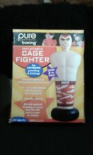 Pure Boxing Tough Guy Cage Fighter Kids Inflatable Punching Bag 8916Tg
