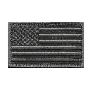 American USA Flag 2x3 5 subdued morale stars stripes touch fastener patch