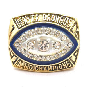 1989 Denver Broncos AFC Championship ring NFL