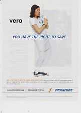 FLO Stephanie Courtney PROGRESSIVE insurance 2015 magazine ad clipping print art