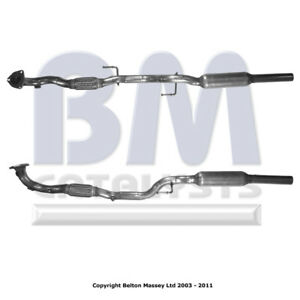 EVW810 VW POLO 1.2 (06-15) EXHAUST FRONT PIPE FLEX & EXHAUST SILENCER