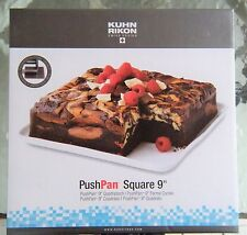 """Kuhn Rikon 9"""" Square Baking Push Pan - Switzerland #1 Cooking Brand - Brand New!"""