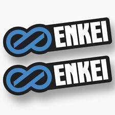 2X  ENKEI DECAL STICKER US MADE TRUCK VEHICLE JDM WHEELS RIMS RACING CAR WINDOW