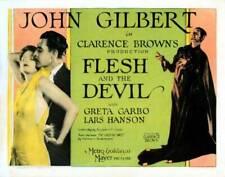 OLD MOVIE PHOTO Flesh And The Devil Lobby Card Us Greta Garbo John Gilbert 1926