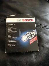Spark Plugs x 4 Bosch Super 4 Fits Vauxhall Astra Corsa Vectra Zafira Chevrolet