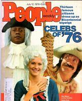 Flip Wilson Sonny Bono People Magazine July 12, 1976 with label