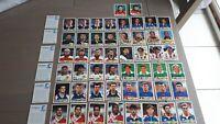 Coupe du Monde France 98 PANINI Danone  - SET COMPLET - 50 stickers - Rare -1998