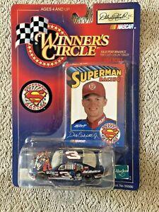 Dale Earnhardt Jr 3 SUPERMAN Winners Circle NASCAR DIECAST 1:64 New