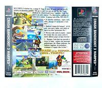 Jaquette / Insert arrière du jeu : Crash Bandicoot 3 - Playstation 1 / PS1