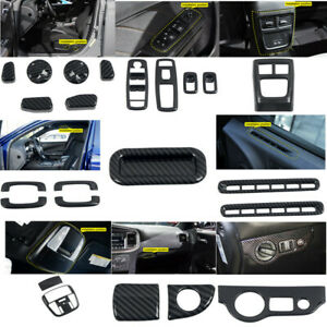 Carbon Fiber Accessories Interior Kit Cover Trims For Dodge Charger 2011-2020