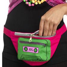 80s Bumbag Retro Fanny Pack Purse Neon Disco
