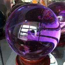 11lb Asian Rare purple Quartz Clear Magic Crystal Healing Ball Sphere 150mm