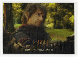 The Hobbit The Battle of the Five Armies - Base Card 83 Canvas Parallel 01/75