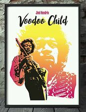 Jimi Hendrix voodoo child poster. Specially created.