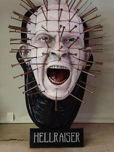 Hellraiser Pinhead, Lifesize bust custom scale 1:1 prop wall hanger.