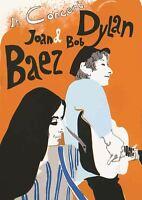 BOB DYLAN AND JOAN BAEZ CONCERT MUSIC POSTER ART PRINT A3 SIZE GZ2169