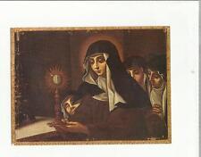 101540 santino holy card  monastero di santa chiara  camerino mc