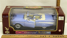 Vintage 1957 Chevrolet Chevy Bel Air 1:18 Scale Die Cast Road Legends 92108 NIB