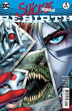 Suicide Squad Rebirth 1 regular cover 1st print series Harley Quinn prequel