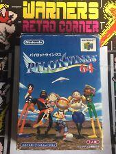 Pilotwings Set B  64 N64 Japan  Jpn Ntsc J Boxed  Retro #retrogaming Game
