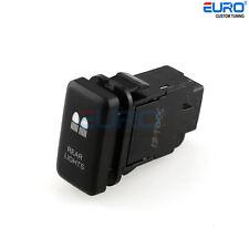 12V Blue LED Rear Light Fog Switch fit for Vigo FJCruiser Fortuner Hilux Tacoma