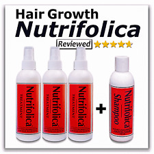 NUTRIFOLICA TREATMENT + REGROWTH GROW YOUR OWN HAIR STOP ALOPECIA THINNING LOSS