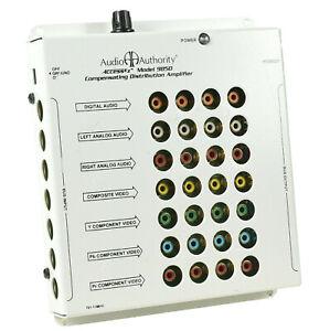 Audio Authority Access EZ Model 9850,Compensating Distribution Amplifier