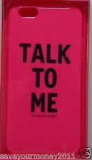 Victoria`S Secret Hot Pink TALK TO ME flexible hard case iPhone 5 / 5S Cover NEW