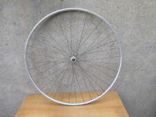 CAMPAGNOLO ROUE AVANT BOYAU VELO COURSE ANCIEN BICYCLE TUBULAR FRONT WHEEL 1950s