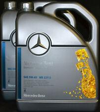 2x5 Liter ORIGINAL MERCEDES BENZ 5W40   MOTORÖL MB 229.5  Synthetic 5W-40