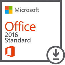 Microsoft Office 2016 Standard Word Excel Outlook Powerpoint Vollversion