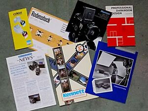 Job lot of vintage Photographic informational/advertising leaflets