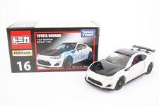 Takara Tomy Tomica Premium #16 Toyota 86 GRMA Edition 1/60 Diecast Toy Car