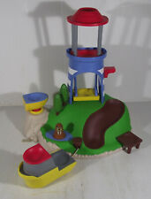 PAW PATROL PULL & PLAY WEEBLES SEAL ISLAND PLAYSET - NO WEEBLES