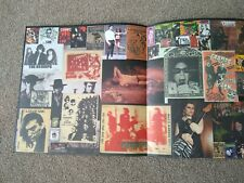 More details for the cramps multi fold out lp style poster, rare images, printed both sides.