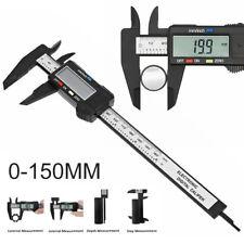 6'' 150mm LCD Digital Vernier Caliper  Measure Ruler Micrometer Tool Gauge .UK