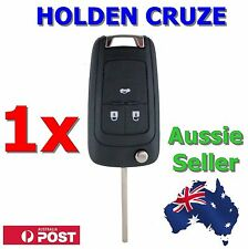 1x Holden Barina/Cruze/Trax 3 Button Remote Flip Key Blank Shell/Case/Enclosure