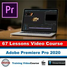 Video Course | Adobe Premiere Pro 2020 Training Course | 67 Lessons Tutorials