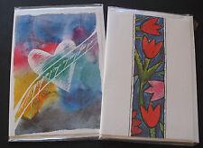 TKD070) 2 schöne Folder als Grußkarte Telefonkarten P-Serie mint/** OVP