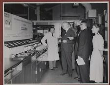 Dunlop Research Centre 1950 opening ceremony.  Sir Lawrence Bragg  ra.5