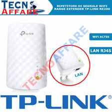 Range Extender Ripetitore Segnale WiFi Amplificatore Segnale AC750 TP-LINK RE200