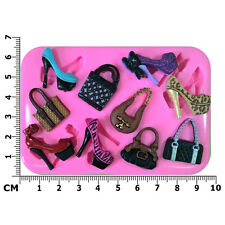 Handbags & Stiletto Shoes Silicone Mould Every Girls Dream by Fairie Blessings