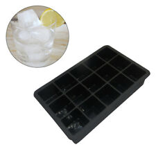 15 cuadrados Molde para hornear bandeja de cubitos de hielo de silicona