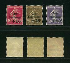"""FRANCE STAMP TIMBRE N° 266/68 """" C . A  4e SERIE """" NEUFS  xx SUP , VALEUR:504€ ."""